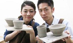 ウェディングギフトに、感謝と愛情が伝わる手作りの陶器。